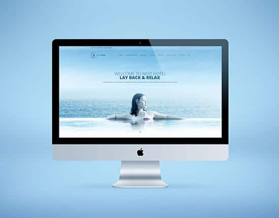 Beach Website for Spa