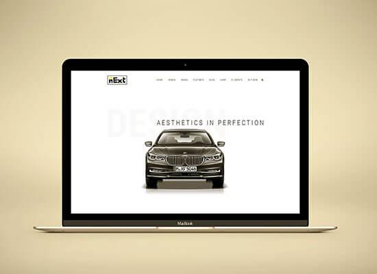 website for automotive dealership