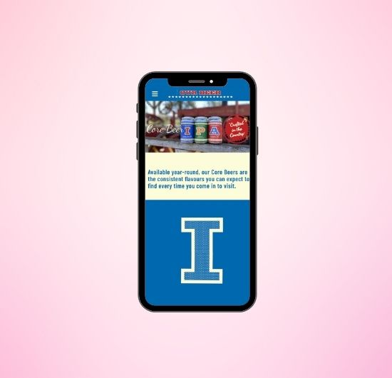 FCB Mobile Website Projects