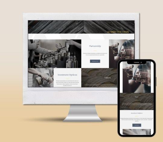 Modern Whisky Website